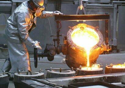 Abbigliamento da lavoro anticalore alluminizzato, protegge dalla fiamma e dal calore
