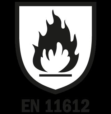 EN 11612 - Abbigliamento anticalore alluminizzato