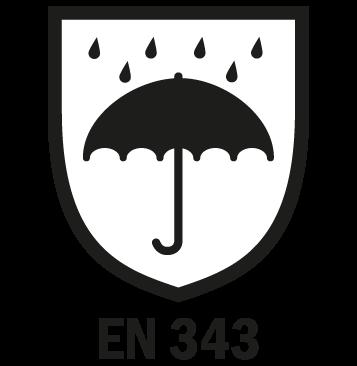 EN 343 - Abbigliamento antipioggia