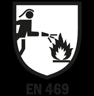 EN 469 - Protezione per la lotta contro l'incendio