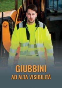 Giubbini ad alta visibilità per cantiere e lavori di movimentazione carichi, certificati EN 20471