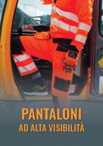 Pantaloni da cantiere ad alta visibilità, certificati EN 20471
