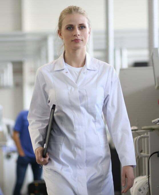 camice donna bianco antinfortunistico antistatico